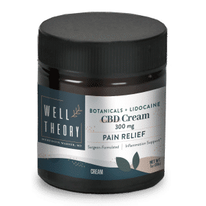 CBD Cream by Well Theory