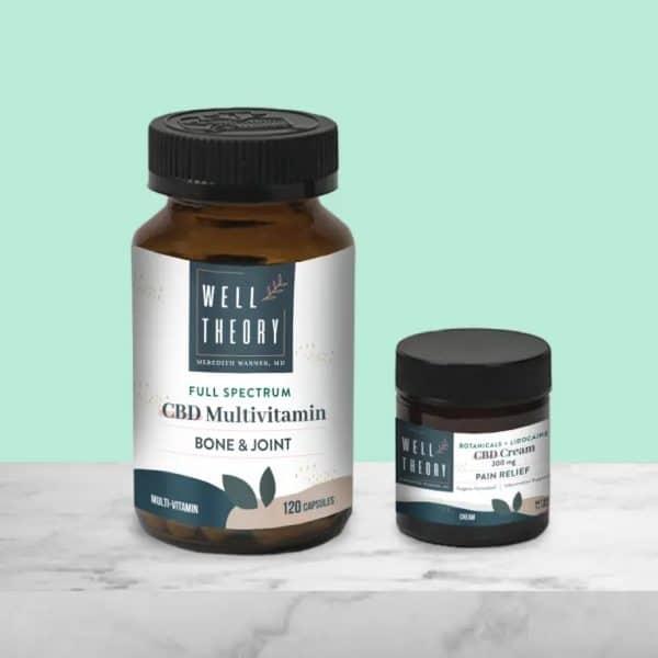 Hemp Multivitamin + Hemp Pain Relief Cream